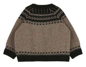 SCON Annie Knit Pullover at Color Me WHIMSY Hip Kid's Fashion Ethically Made in South Korea