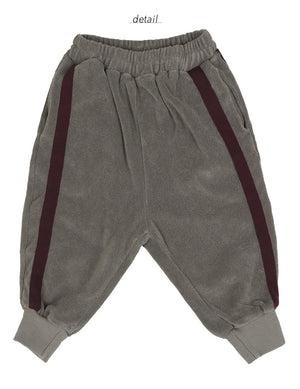 Bien a Bien BN Tape Pants at Color Me WHIMSY hip kid's fashion ethically made in south korea