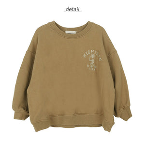 Bien a Bien BN Team Sweatshirt at Color Me WHIMSY hip kid's fashion ethically made in south korea