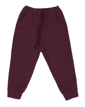 SCON Muffy Jogger Pants at Color Me WHIMSY hip kid's fashion ethically made in south korea