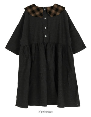 SCON Cathy Dress at Color Me WHIMSY hip kid's fashion ethically made in south korea