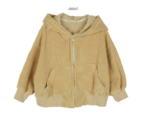 Bien a Bien BN Hoody Zip-up at Color Me WHIMSY hip kid's fashion ethically made in south korea