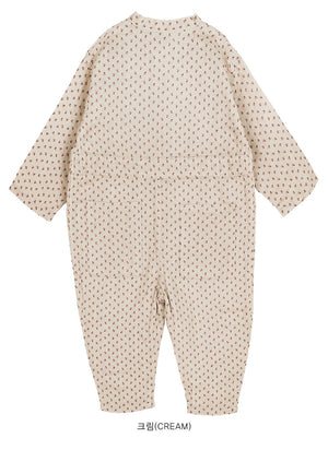 Bien a Bien BN Play Jumpsuit at Color Me WHIMSY hip kid's fashion ethically made in south korea