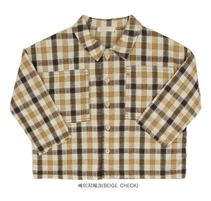 Bien a Bien BN Boxy Shirt at Color Me WHIMSY hip kid's fashion ethically made in south korea