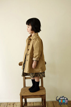 Amber Viang Trench Coat - Color Me WHIMSY