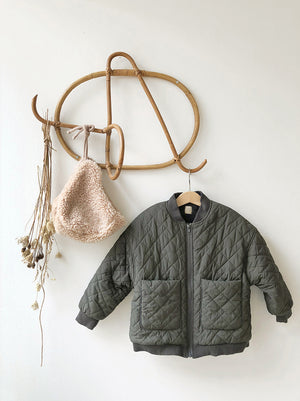 BN La Beaute Quilted Jacket - Two Colors - Color Me WHIMSY