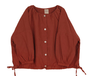 SCON Julia Blouse at Color Me WHIMSY hip kid's fashion ethically made in south korea