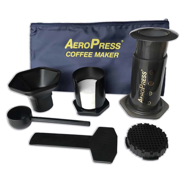 AeroPress coffee maker with Tote Bag