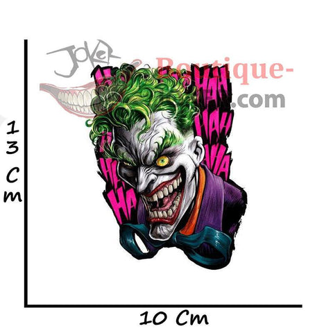 Boutique-Joker 1PCS Suicide Squad Joker PVC Stickers For Notebook Skateboard Bike Motorcycle Phone Helmet Stickers Joker