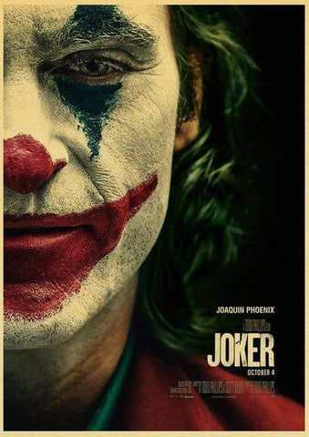 Boutique-Joker 42X30CM Poster Joker <br> Film 2019 Joker