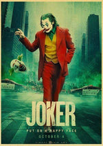 Boutique-Joker 42X30CM Poster Joker <br> Happy Face Joker