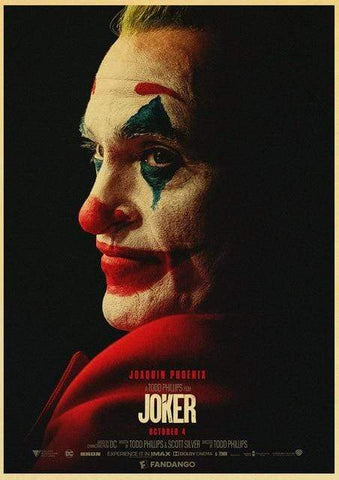 Boutique-Joker 42X30CM Poster Joker <br> L'ambition d'un clown Joker