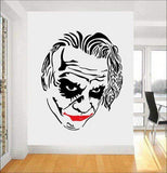 Boutique-Joker Black / 42x51cm Joker Wall Decal Comics Superhero Stickers Wall Decoration Vinyl Art Nursery Decor DIY Stickers Living Room Wall Art Decor A321 Joker