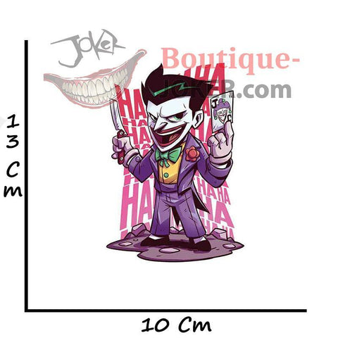 Boutique-Joker EARLFAMILY 13cm x 10cm For The Joker Car Stickers And Decals Waterproof Fashion Fashion Occlusion Scratch VAN decoration Joker