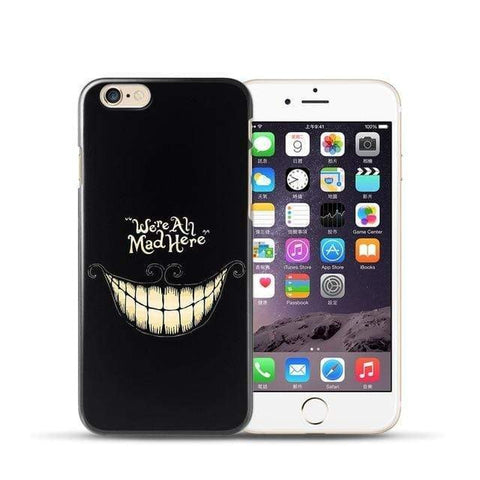 Boutique Joker iPhone 6 Plus Coque Joker Iphone <br> We're All Mad Here Joker