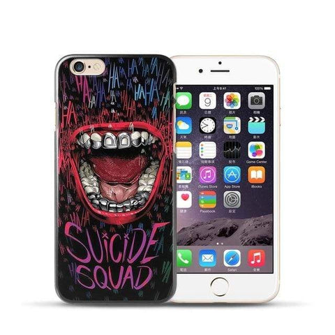 Boutique Joker iPhone 7 8 Coque Joker Iphone <br> Suicide Squad Joker