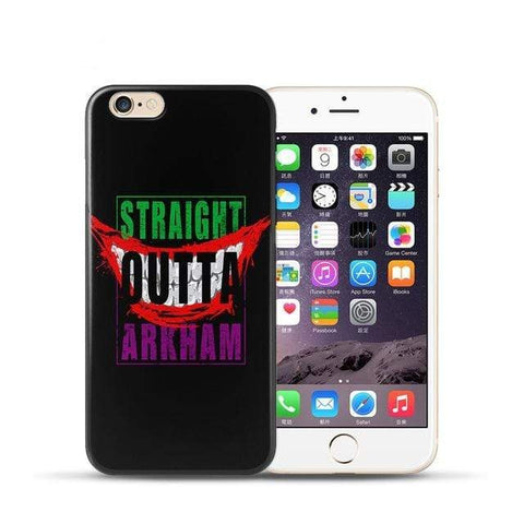 Boutique Joker iPhone XR Coque Joker Iphone <br> Straight Outta Arkham Joker