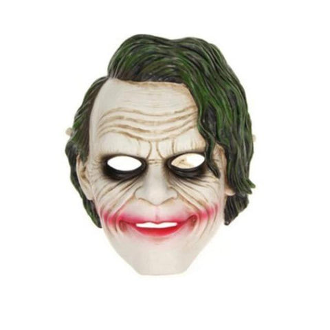 Boutique-Joker Mask 4 / S Movie Joker Batman The Dark Knight Joker Cosplay Joker Purple Suit Outfits Men Halloween Costumes Fancy Mask Shoes Heath Ledger Joker