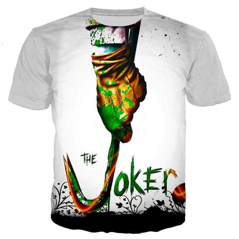 Boutique-Joker PLstar Cosmos The Joker Print 3D T-shirts Men/Women fashion street Clothing tops size S-5XL Joker