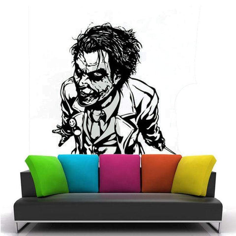 Boutique-Joker Sticker Black / 57x73cm Sticker Joker <br> Le Duel Joker