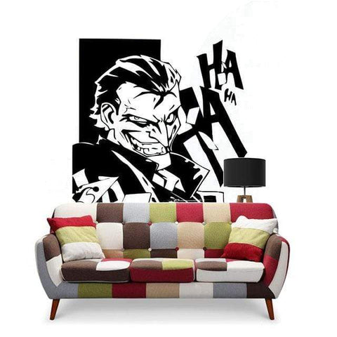Boutique-Joker Sticker Black / 58x81cm Sticker Joker <br> Collant Joker