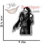 Boutique-Joker Sticker Sticker Joker <br> En noir et blanc Joker