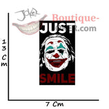 Sticker Joker <br> Just Smile