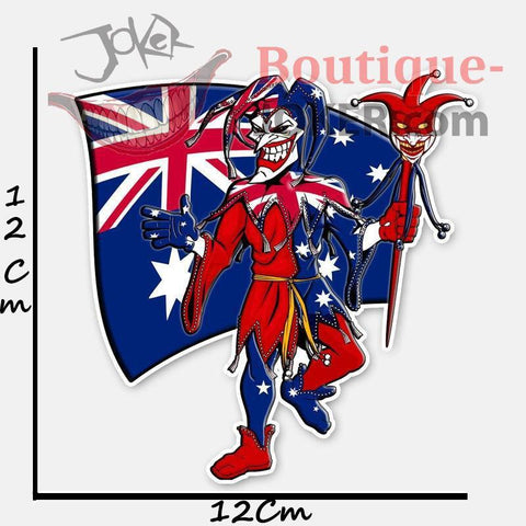 Boutique-Joker Sticker Sticker Le Joker <br> Australien Joker