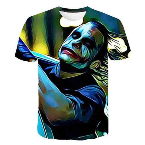 Boutique Joker T-shirt 1 / M T-shirt Joker <br> Multicouleur Joker