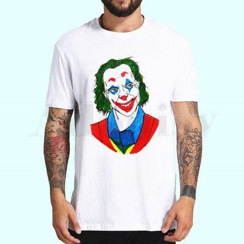 Boutique Joker T-shirt 4XL / China T-shirt Joker <br> Pensif Joker