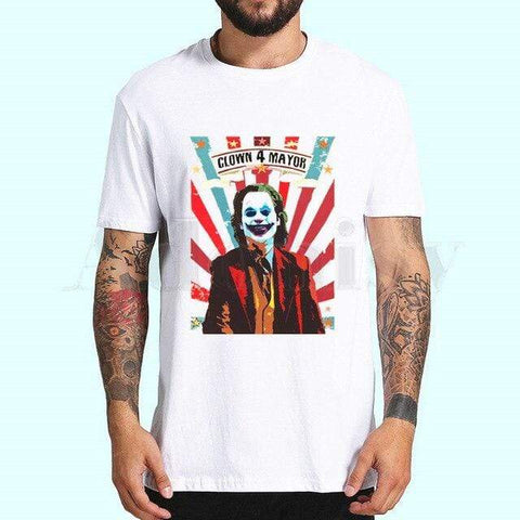 Boutique Joker T-shirt 4XL T-shirt Joker <br> Le Cirque Joker