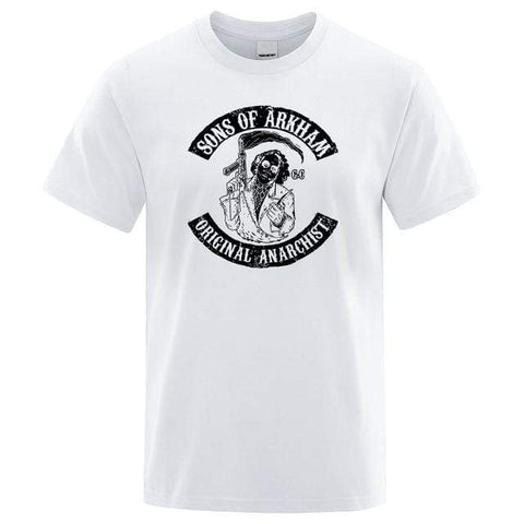 Boutique Joker T-shirt BLANC / XXXL T-shirt Joker <br> Sons Of Anarchy Joker