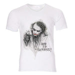 Boutique Joker T-shirt T-shirt Joker <br> Carte de jeu Joker