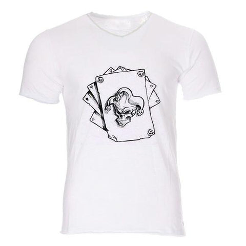Boutique-Joker T-shirt T-shirt Joker <br> Carte Démon Joker