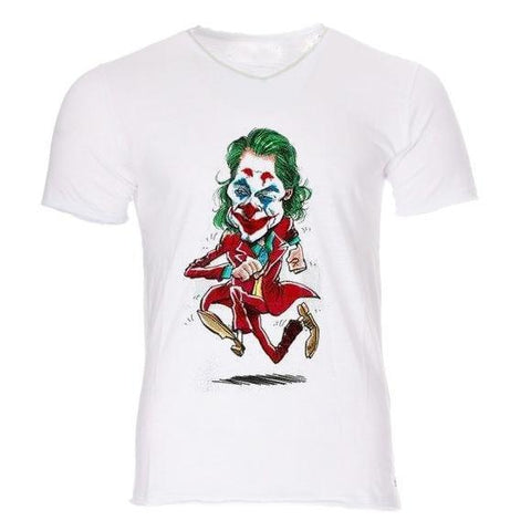 Boutique Joker T-shirt T-shirt Joker <br> Le Comics coureur Joker