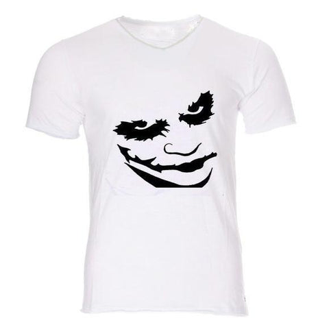 Boutique Joker T-shirt T-shirt Joker <br> Smiley Noir Joker
