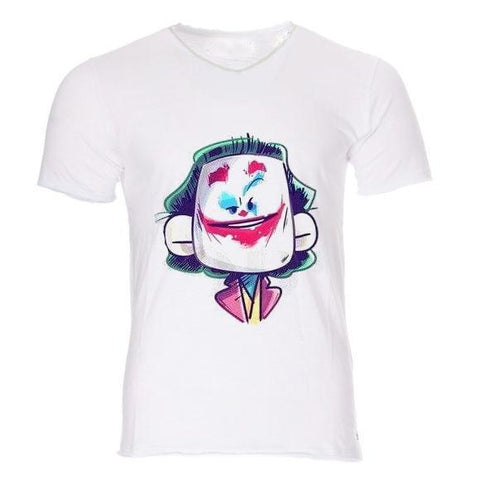 Boutique Joker T-shirt T-shirt Joker <br> Tête Carré Joker