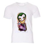 Boutique Joker T-shirt The clown king men T shirt joker batman why so serious BRUCE WAYEN cosplay jersey boy top tee costume jersey 32-41# Joker