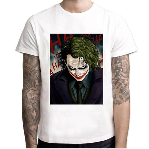 Boutique Joker T-shirt XXL T-shirt Joker <br> Happy Face Joker