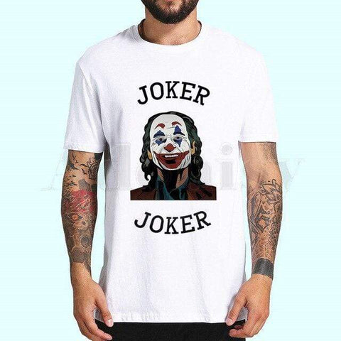 Boutique Joker T-shirt XXL T-shirt Joker <br> Sourire de Clown Joker