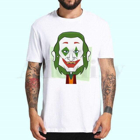 Boutique Joker T-shirt XXXL / China T-shirt Joker <br> Vert Joker