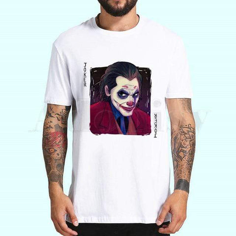 Boutique Joker T-shirt ZE / XXL / China T-shirt Joker <br> Carte Sombre Joker