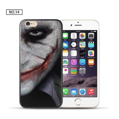 Comics-Joker for iPhone 5 5S SE / 14 For coque iPhone 6S case Joker for iPhone X case 2018 new arrivals for fundas iPhone XR case 5 5S SE 6 7 8 Plus XS Max case Joker