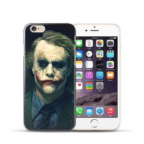 Comics-Joker for iPhone 6 Plus / 03 For coque iPhone 6S case Joker for iPhone X case 2018 new arrivals for fundas iPhone XR case 5 5S SE 6 7 8 Plus XS Max case Joker