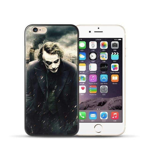 Comics-Joker for iPhone XR / 20 For coque iPhone 6S case Joker for iPhone X case 2018 new arrivals for fundas iPhone XR case 5 5S SE 6 7 8 Plus XS Max case Joker