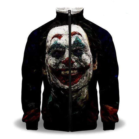Suicide-Joker 1 / XXS Veste Joker <br> Le Dangereux Clown Joker