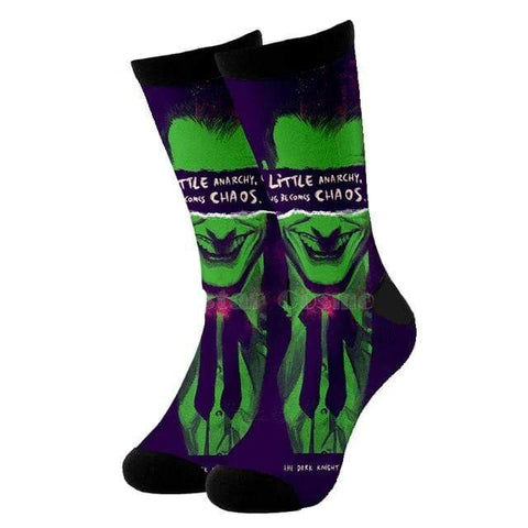 chaussette citation joker