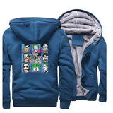 Suicide-Joker Lake Blue / 5XL Veste Polaire Joker <br> L'Origine Joker
