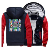 Suicide-Joker Red Dark Blue / XXL Veste Polaire Joker <br> L'Origine Joker