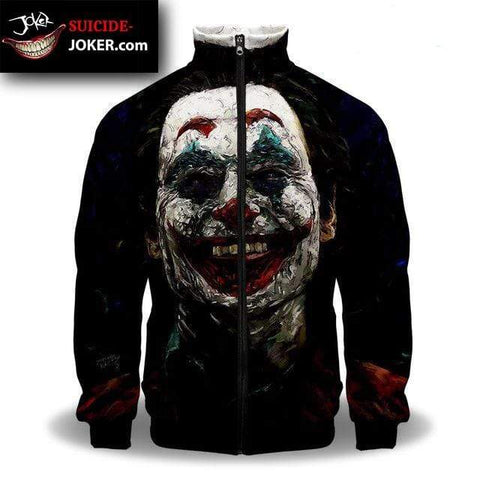 Suicide-Joker Veste Joker <br> Le Dangereux Clown Joker
